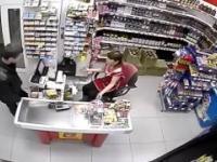 Napad na sklep spożywczy w Rosjii