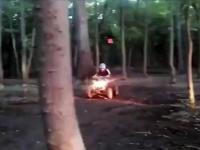 Quadem przez las