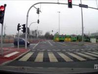 Wypadek z tramwajem