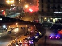Zamieszki fanów Legii i Napoli