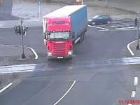 Pociąg kontra ciężarówka