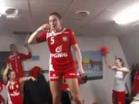 Tańce i Śpiewy Reprezentantek Polski w Piłce Ręcznej po wygranej z Węgrami 24-23 MŚ DANIA 2015