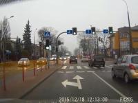 Tymczasem na jednym ze skrzyżowań w Łomży