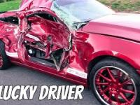 Ford Mustang Unlucky Acceleration ★Crash and Fail on Mini Compilation December 2015★