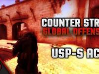 CS:GO USP-S ACE on Mirage
