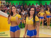 Tymczasem w brazylijskiej TV: Twister na wizji