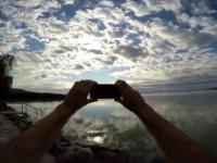GoPro - Balaton abondon pier pennyboard jump 4K