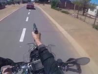 Efektowny pościg policyjny w RPA