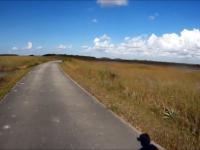 Typowa ścieżka rowerowa na Florydzie