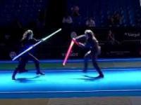 Pojedynek niczym z Gwiezdnych Wojen podczas Mistrzostwach Świata w szermierce