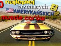 10 najlepiej brzmiących amerykańskich muscle car'ów