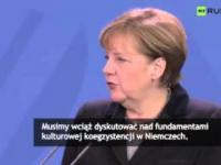 Merkel o zaatakowanych kobietach w Kolonii