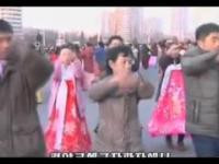 Radość Koreańczyków po udanej eksplozji bomby wodorowej