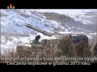 Ćwiczenia Wojskowe Nadzorowane przez Kim Dzong Una