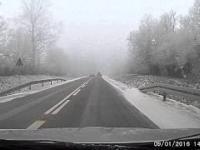 Wielki fart kierowcy Opla Astry
