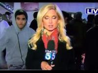 Reporterka TV zaatakowana podczas transmisji na żywo