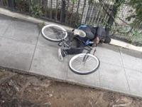 Rower pod napięciem pułapką na złodzieja. Czy ktoś odważy się go ukraść?