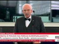 Janusz Korwin-Mikke - mocne wystapienie na debacie w parlamencie europejskim