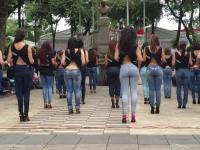 Taneczny flashmob z Meksyku