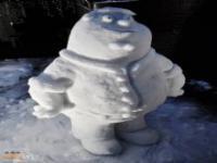Ze śniegu można ulepić nie tylko bałwana