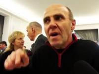 Horror bezprawia. Dariusz Komorowski w Sejmie - konferencja na rzecz nowej Konstytucji