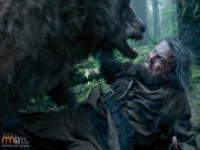 Charakteryzacja Leonardo di Caprio z filmu Zjawa