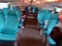 Jazda prędkością 430km/h w chińskim pociągu