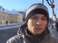 Młody student obnażył hipokryzję manifestacji KOD i został wygwizdany!