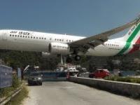 Ekstremalne lądowania i starty na Skiatos