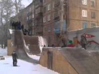 Nowa zabawa na rampie rosyjskich dzieci
