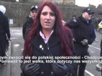 Jayda Fransen (Britain First): Polacy, chodźcie z nami!