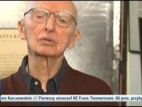 Prof. Wolniewicz wychodzi ze studia!, nie chce rozmawiać o Smoleńsku