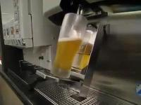 Oryginalny system nalewania piwa