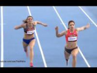 Polski Usain Bolt w spódnicy wygrywa znów kolejne zawody!