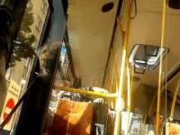 Koleś po dopalaczach w katowickim autobusie