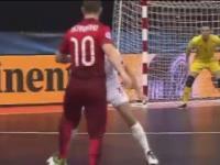 Genialny gol RICARDINHO podczas futsalowych mistrzostw Europy