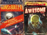 Okładki magazynów z Fallouta 4