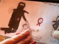 Co rysują dzieci uchodźców w obozach w Norwegii