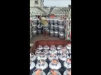 Pakowanie butli z gazem