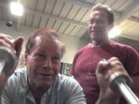 Franco Columbu i Arnold Schwarzenegger - staly niedosyt