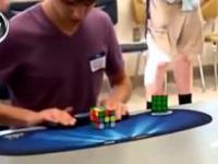 Rekord w układaniu Kostki Rubika