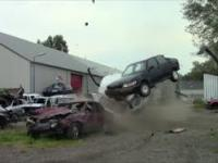 Volvo 850 extreme crashtest! part 1