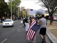 Reakcja amerykańskich żołnierzy marines na profanacje flagi USA