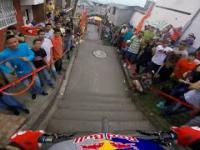 Ekstremalny zjazd rowerem w kolumbijskiej Manizales