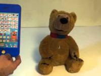 Talking Teaddy Bear Horacy + wireless tablet