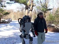 Niesamowity robot z Boston Dynamics