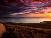 Zachód słońca nad oceanem - Free Creative Commons