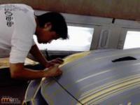 Najbardziej skomplikowane lakierowanie samochodu