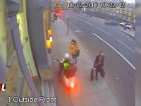 Podwójna kradzież na skuterze