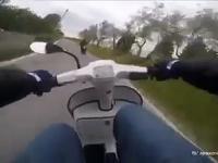 Scooter vs Yamaha XJ6